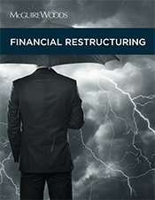 Financial Restructuring brochure cover
